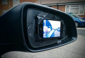 expensive rear view mirror
