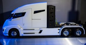 Nikola reveals hydrogen fuel cell truck