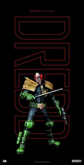 2000 AD JUDGE DREDD 1 12 SCALE FIGURE