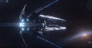 Andromeda Inititive Ark Ship