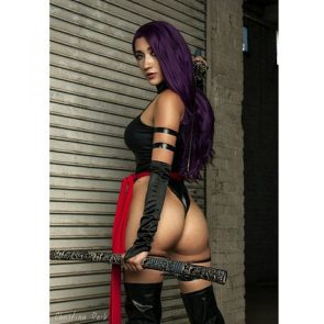 Christina Dark as Psylocke