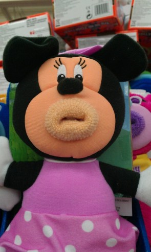 Creepy Minnie Mouse Toy