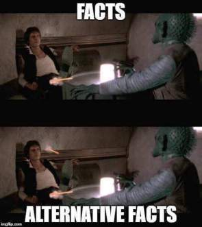 Facts vs Alternative Facts