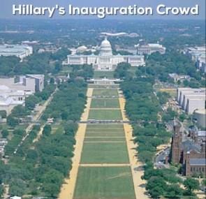 Hillary's Inauguration Crowd