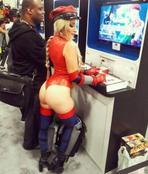Holly Wolf as Latex Cammy