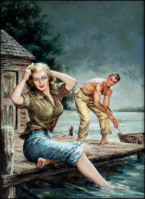 Man and Lady on a dock