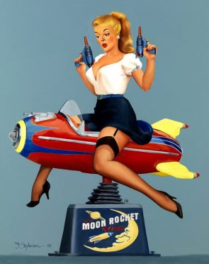 Moon Rocket Rider