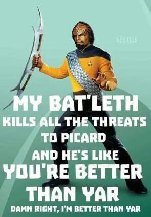 My Bat'leth