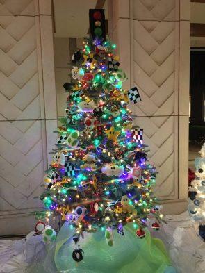 Nintendo Christmas Tree