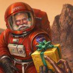 Santa on Mars