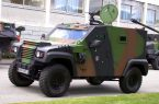 Small protected vehicle