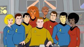 Star Trek TAS Crew