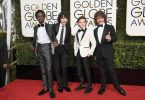 Stranger Things Cast at the Golden Globes