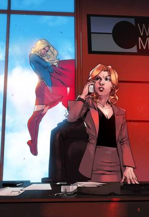 Supergirl is breaking the law