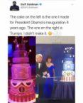 Trump stole 40 cakes