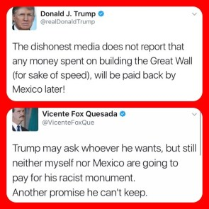 Trump vs Vincente Fox Quesada