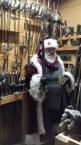 Well armed Santa
