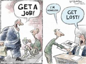 Hopeless homeless