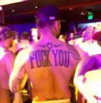 fuck you back tattoo