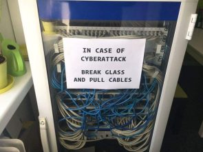 in case of cyber attack