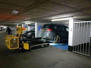 parking garage lift bot
