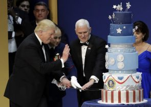 trump is going to chop that cake