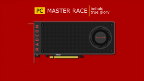 behold the true glory of the PC Master Race