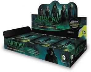 Arrow Season Three Trading Cards