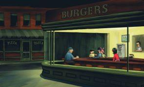 Burgers at night