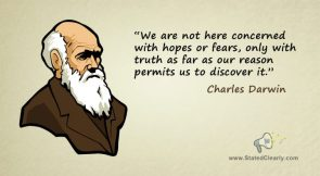 Darwin Day quote