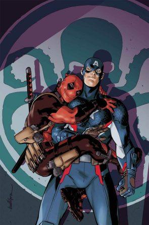 Deadpool loves Captain America's Hydra