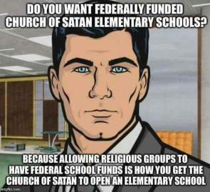 Do you want federally funded Satanic Elementary schools