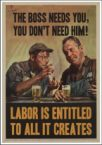 Labor is entitled
