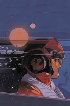 Poe Dameron comic book cover
