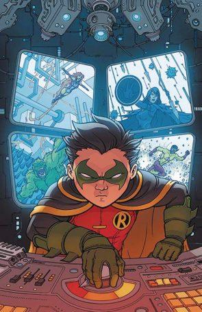 Robin Turns a dial