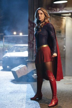 Supergirl is all serious and stuff