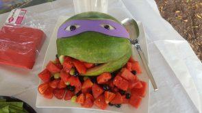 TMNT Watermellon art