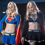 Two flavors of Supergirl