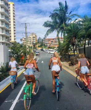 biking butts