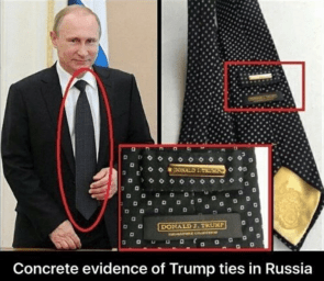 concrete evidence of Trump ties in Russia
