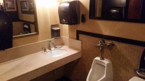 corner cover urinal