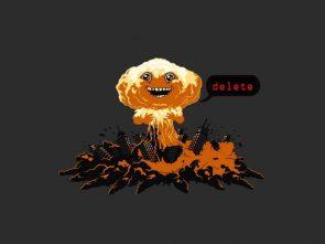 delete explosion
