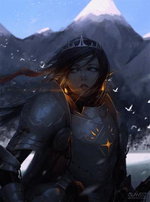 glowing armor