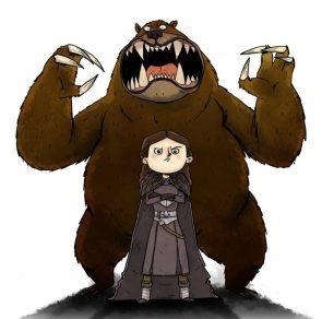 she has bears