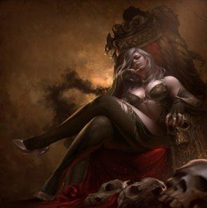 throne skull