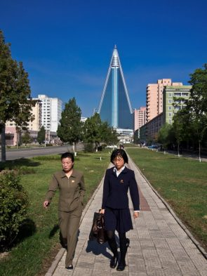 North Korean Business Women