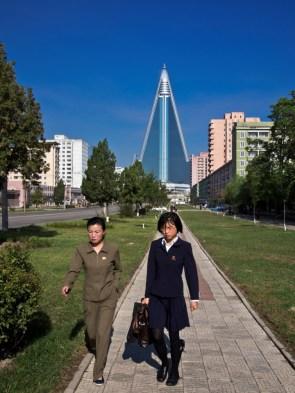 North Korean Business Women