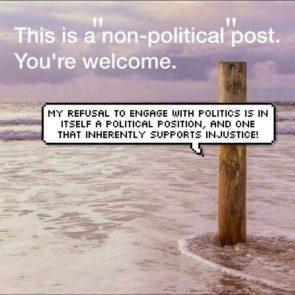 non political post
