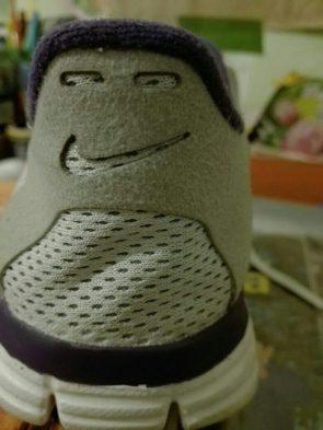 smiling shoe