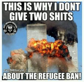 this is why I don't give two shits about the refugee ban